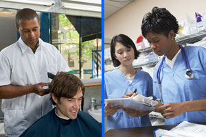 New Barber Technician and Patient Care Technician Programs