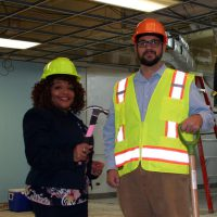 Thumbnail photo of Dr. Lynette D. Stokes, SSC President, and Matt Beasland, Dean of Adult & Continuing Education