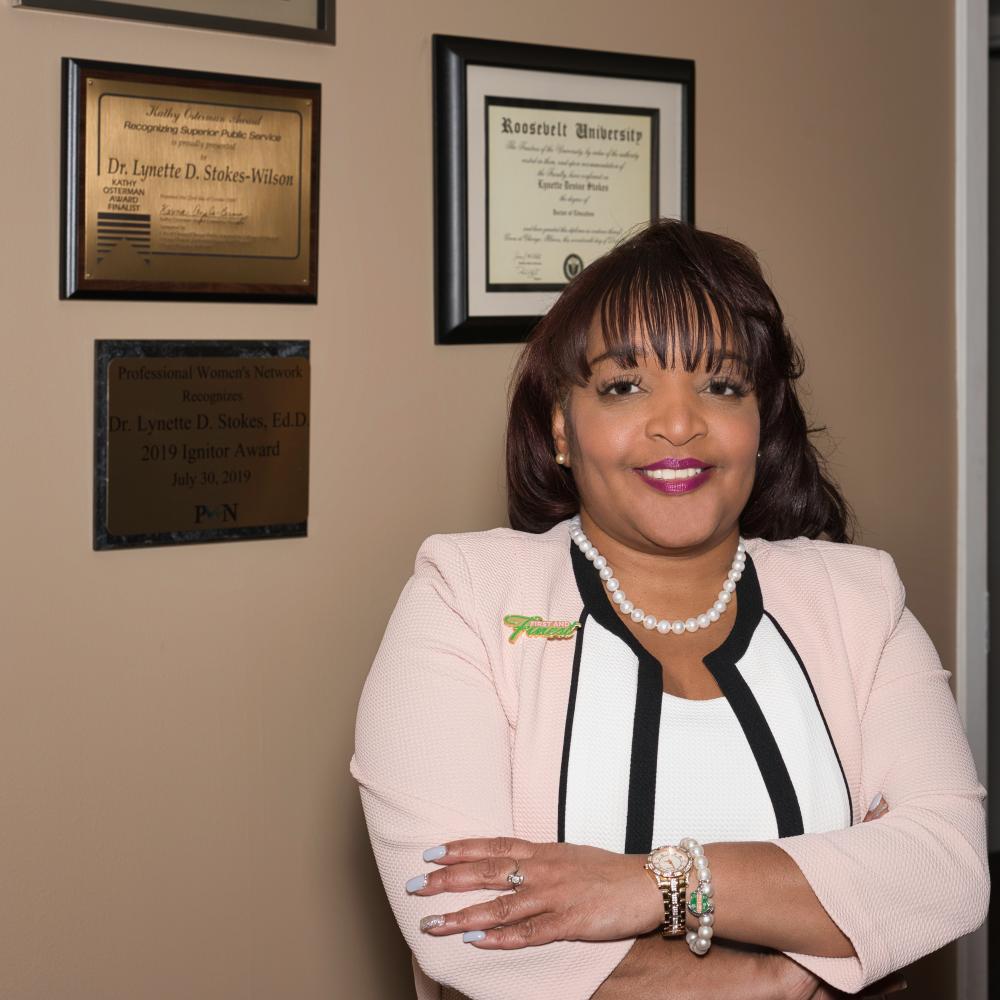 Photo of SSC President Lynette Stokes