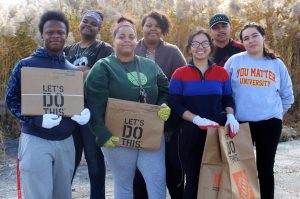 Students of South Suburban College's Green Club worked in collaboration with the College's Sustainability Committee to achieve Tree Campus USA recognition.