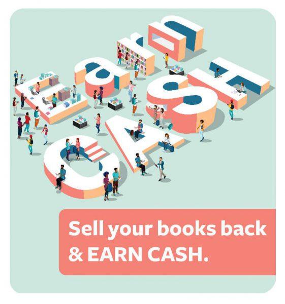 EARN CASH - Sell your books back EARN CASH.
