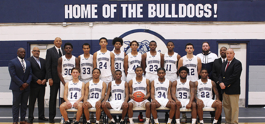 Team photo of 2020-21 Men's Basketball team