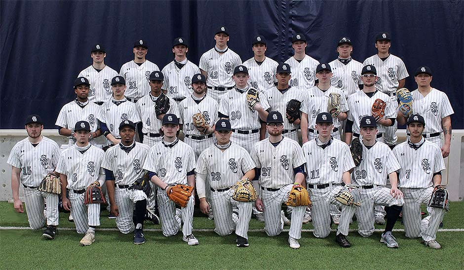 Photo of 2021 SSC Baseball team