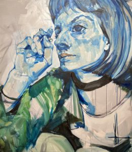 Olivia, 2020 – oil on canvas