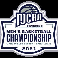 2021 NJCAA Div II Men's Basketball National Tournament logo