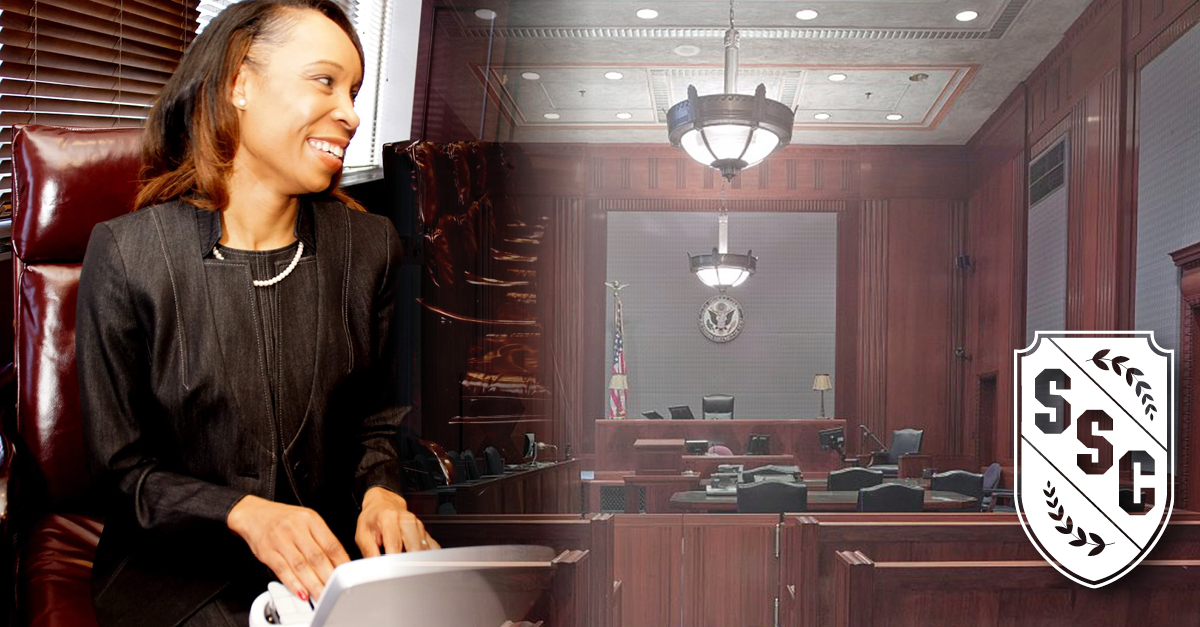 Photo of a Court Reporter