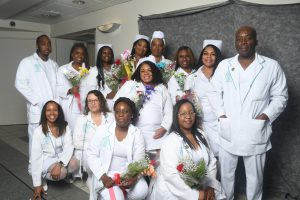 Photo of South Suburban College Associate Degree Nursing graduates.