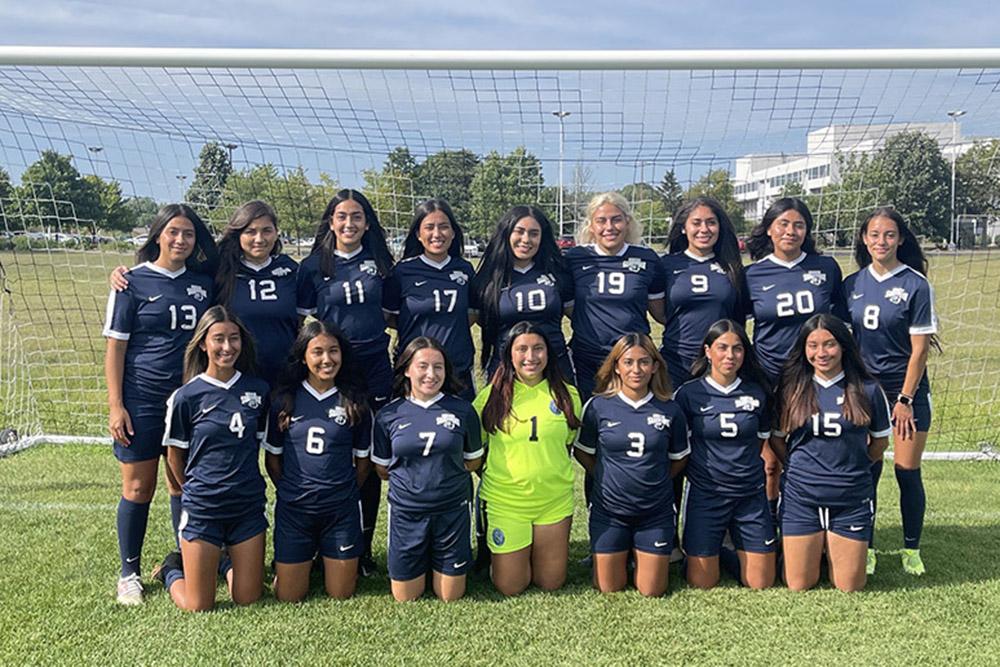 Photo of 2021 Women's Soccer team