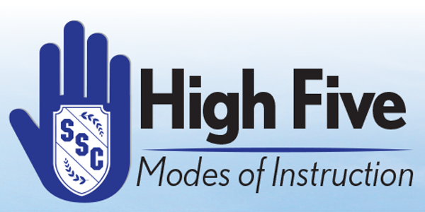 High Five - Modes of Instruction for Fall