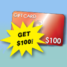 GET $100 GIFT CARD