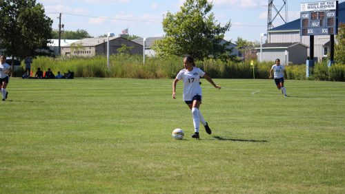 SSC Defender with the ball