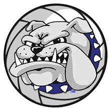 SSC Bulldog Volleyball logo