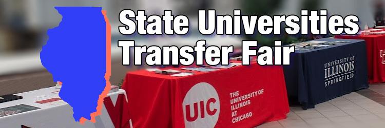 State Universities Transfer Fair header